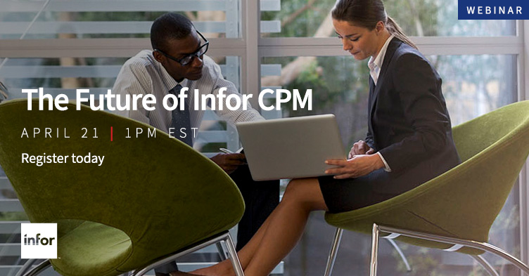 Infor CPM webinar registration link